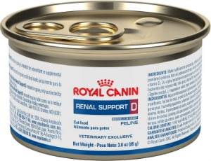 Royal Canin low protein cat food